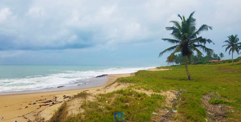 15 Acres Pristine Oceanfront Land situated in AMPENYI